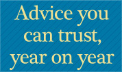 Advice you can trust, year on year.